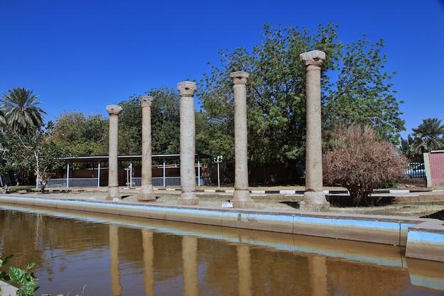 하르툼의 수단 국립 박물관