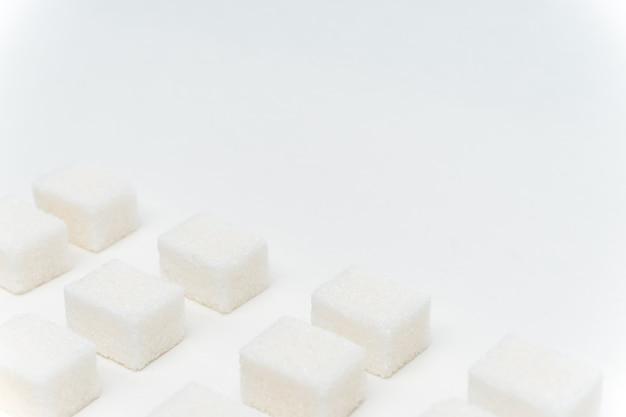 Сахар кубики глюкоза ингредиент калорий энергия светлый фон