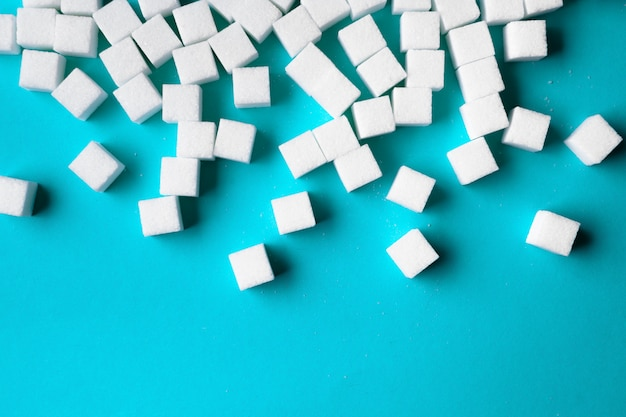 Of sugar cubes