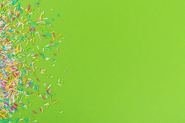 Точки сахарной посыпки, украшение для торта и выпечки, как поверхность