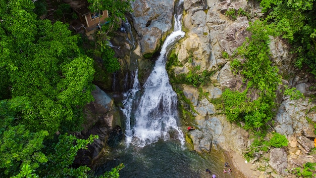 Suhom waterfall aceh besar district aceh indonesia a very beautiful noncoastal tourist spot