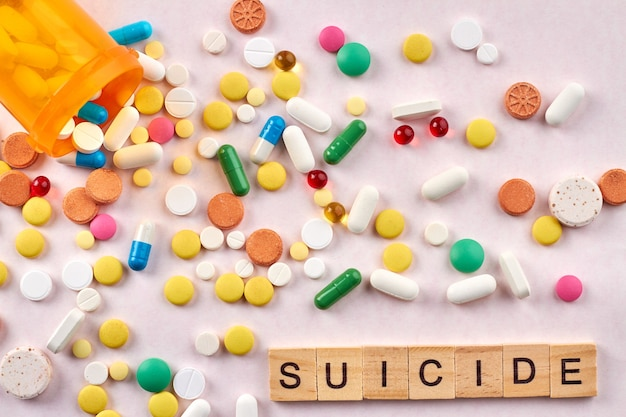 Концепция суицидальных таблеток.