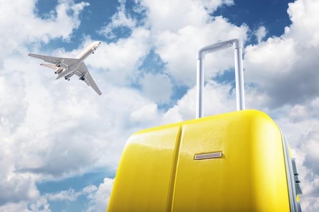 가방과 비행기