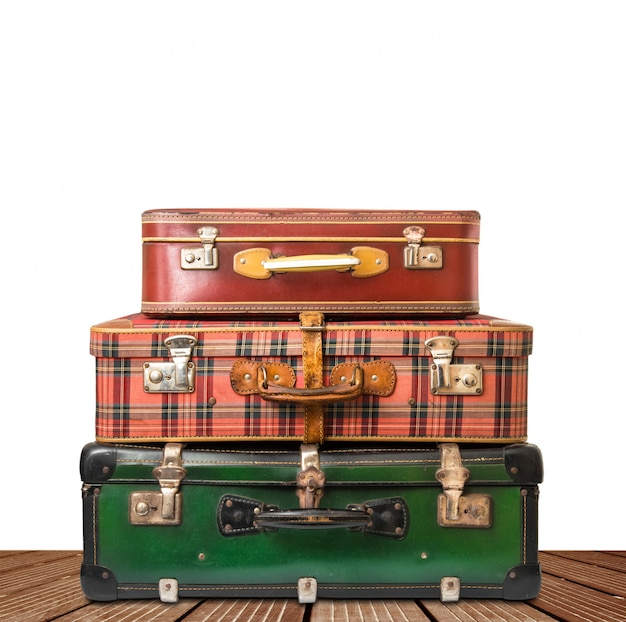 Suitcase, luggage isolated