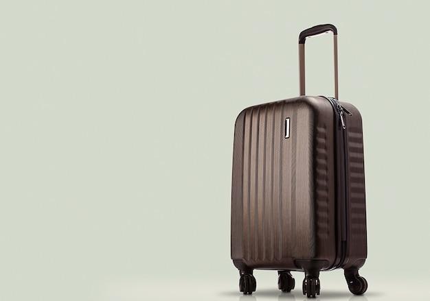 色付きのスーツケース