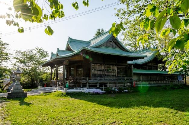 Suitengu храм храм синтоистской религии в отару, хоккайдо, япония.