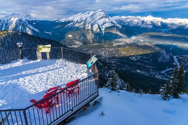 설퍼 마운틴 트레일 밴프 국립공원 canadian rockies ab canada