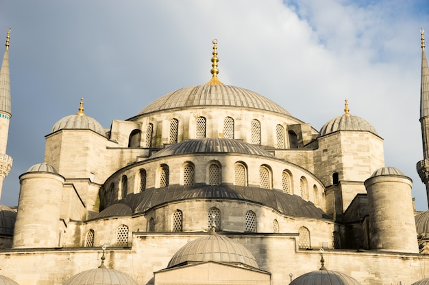 Голубая мечеть султана ахмеда, стамбул, турция