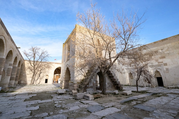 Караван-сарай султан хан, расположенный в провинции султанхан аксарай, турция