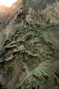 メキシコ、チアパス州のスミデロキャニオン。高品質の写真