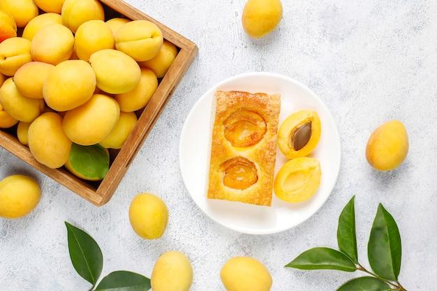 Summer apricot pie