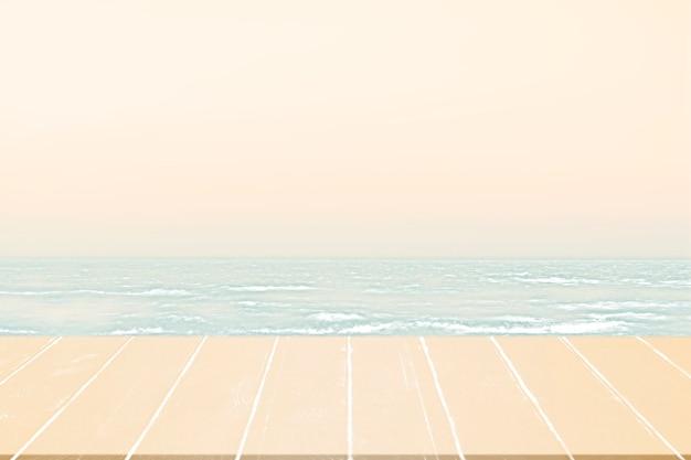 Летний пляж выстрел с земли