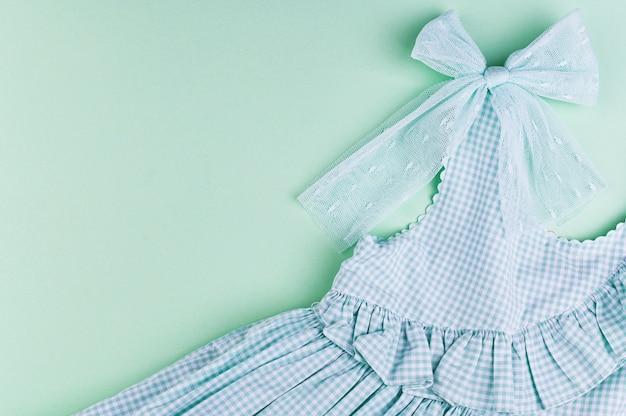 Summer children's clothing.