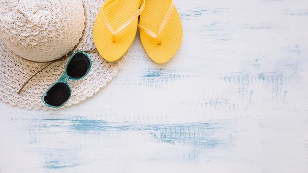 여름 요소와 copyspace 여름 구성