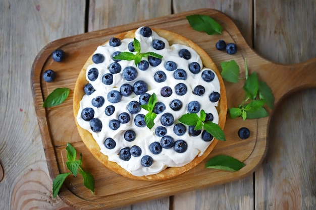 バニラクリームと夏のデザート