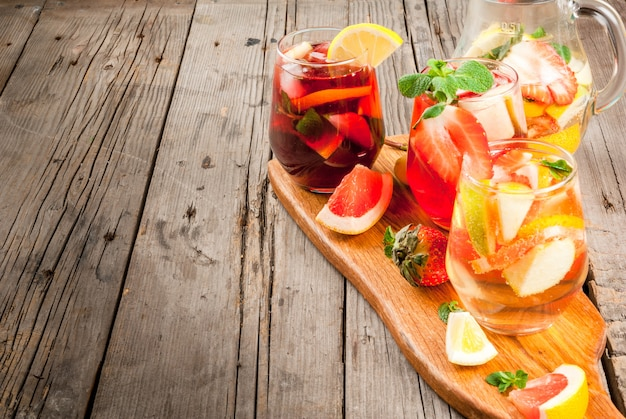 夏の飲み物サングリア