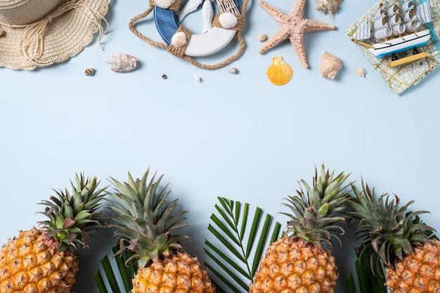 여름 과일 배경 디자인 컨셉