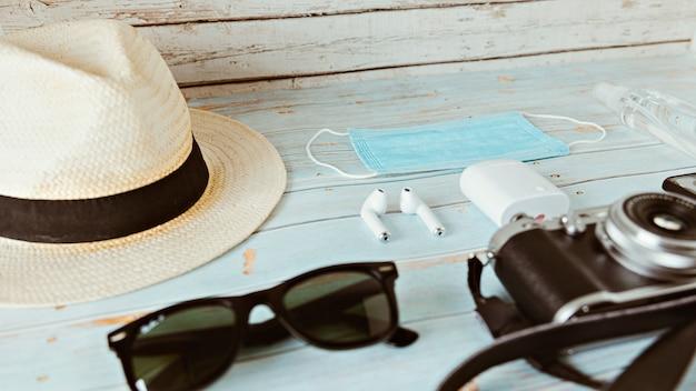 旅行者ビンテージスタイルの夏の休日キット2020