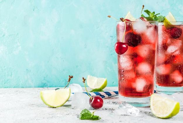 Summer iced refreshment drink