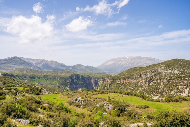 アルバニア高地の夏