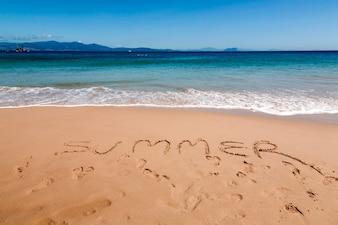 ビーチの夏