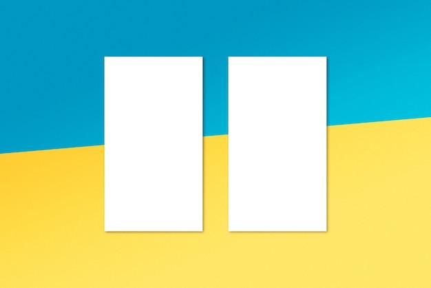 여름 인스 타 그램 이야기 목업 카드 템플릿 배경