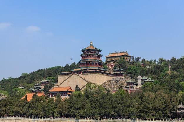 Комплекс летнего дворца на холме долголетия, пекин
