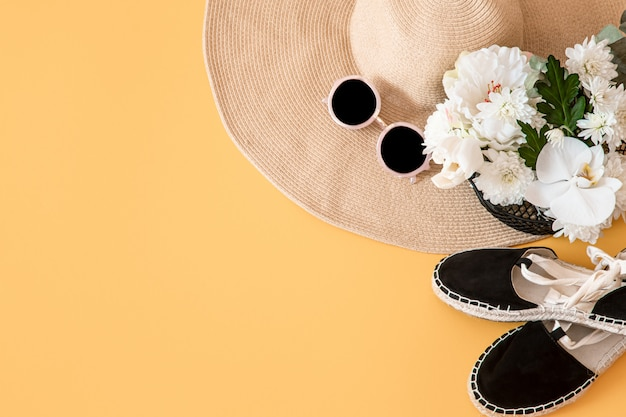 Summer stylish with summer accessories.