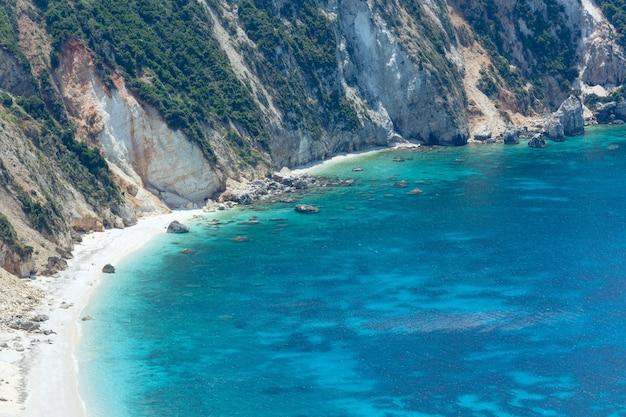 Petani 해변 kefalonia, 그리스의 여름 평면도