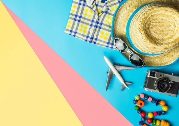 Summer travel fashion accessories