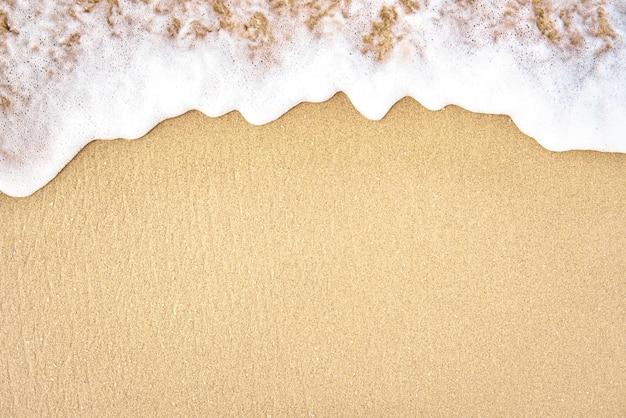 Summer tropical beach and waves