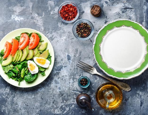 Summer vitamin salad