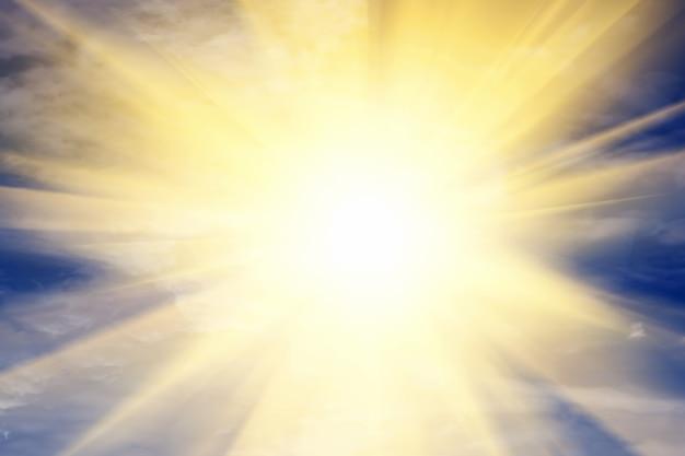 Солнце, сияющее