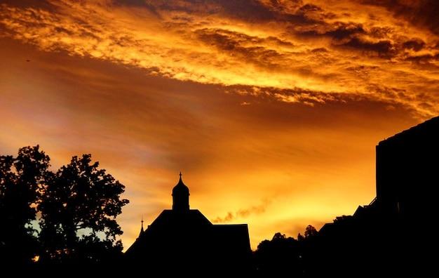 Sun sunset sky silhouette afterglow evening