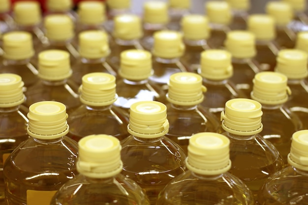 Sunflower seed oil factory warehouse store