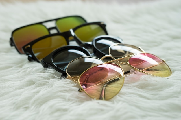 Sunglasses have more colors, styles