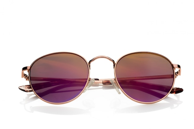 Sunglasses isolated against white