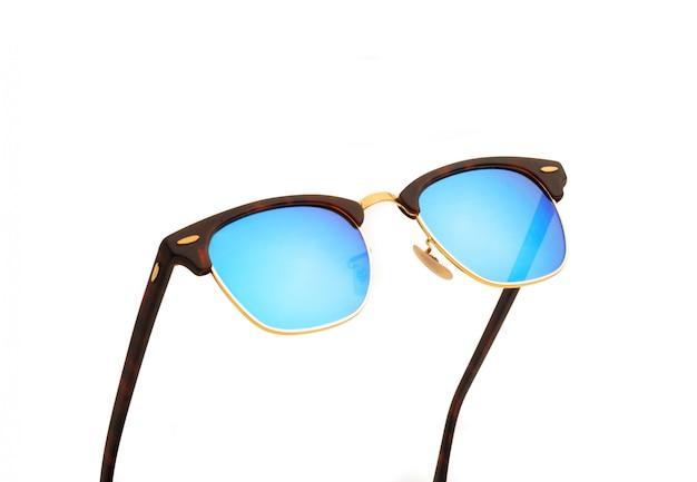 白のサングラス
