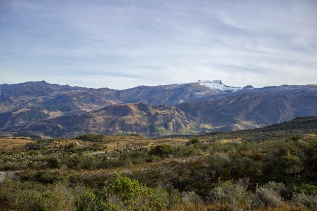 Sunny day in the sierra nevada del cocuy