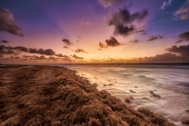 カリビアンビーチの日の出