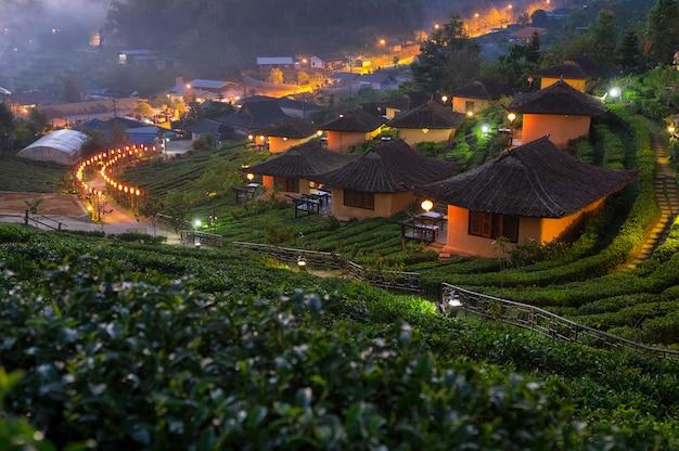 Sunrise at ban rak thai.