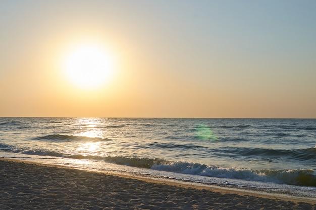 Sunrise and beach sunrise.