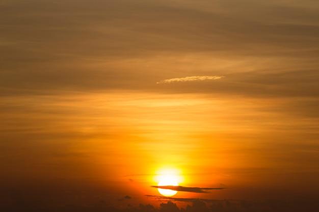 Sunrise and sea.