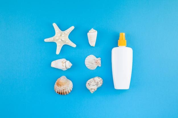 Sunscreen blank bottle