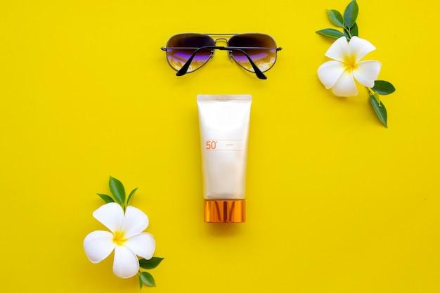 肌の顔のための日焼け止めspf50