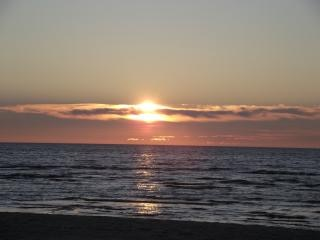 Sunset   baltic sea