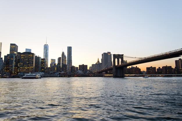 맨해튼의 일몰