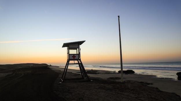 Закат на пляже гран-канария