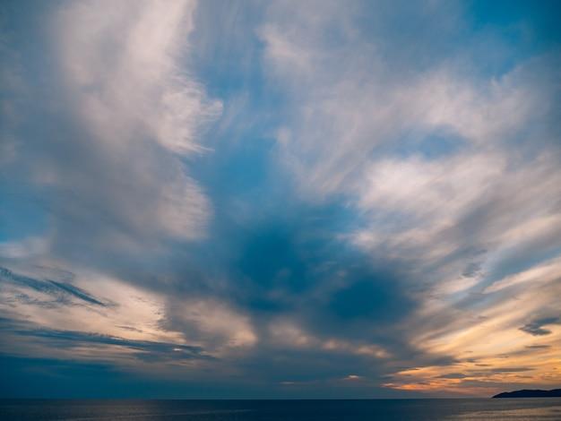 Закат над морем закат над адриатическим морем