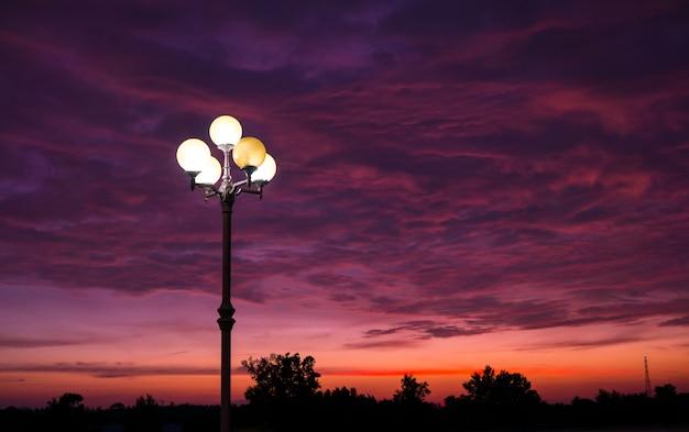 Sunset at the sarasin bridge phuket